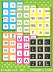 Letter and Number Labels - Seeing Spots Theme {Bright and