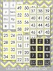 Letter and Number Labels - Sweet and Sunny Theme {Yellow a