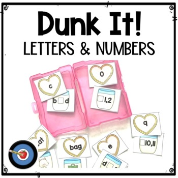 Letter and Number Patters, Short and Long _e Vowels: Dunk It! Games