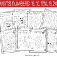 Letter and Number Recognition Hidden Pictures Activity wit