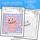 Letter and Number Recognition Hidden Pictures Activity with Daubers - Monsters