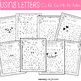 Letter and Number Recognition Hidden Pictures Activity with Daubers - Valentines