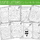 Letter and Number Recognition Spring Hidden Pictures Activ