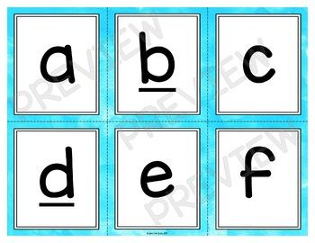 Letter and Number Recognition Stack the Deck Bundle