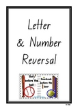 Letter and Number Reversal