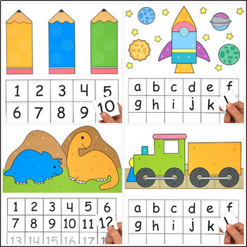 Letter and Number Sequence Mats