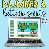 Letter and Number Sort for Google Slides™