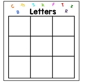 Letter and Number Sorts