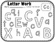 Letter and Number Work BUNDLE