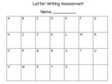 Letter and Number Writing Assessment