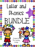 Letter and Phonics BUNDLE