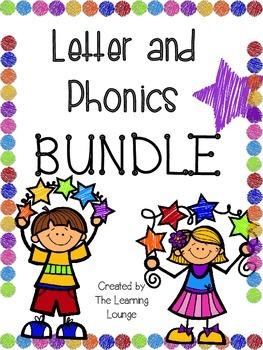 Letter and Phonics BUNDLE