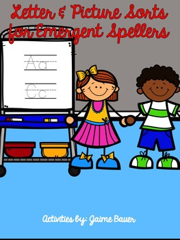 Letter And Picture Sorts For Emergent Spellers Pdf