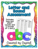 Letter and Sound Assessment