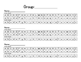 Letter and Sound Assessment Sheet
