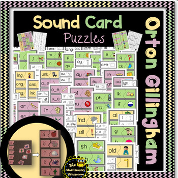 Letter and Sound Puzzles- Level 1