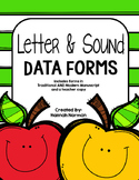 Letter and Sound Data Forms