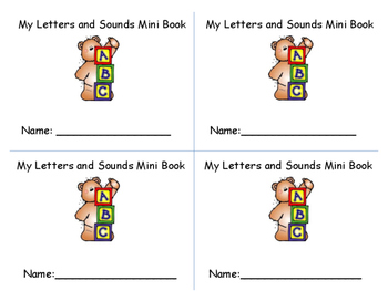 Letter and Sound Fluency