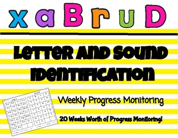 Letter and Sound ID Progress Monitoring