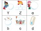 Letter and Sound Identification Card Game - Winter Version