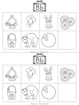 Letter and Sound Picture Sorts - Alphabet, Digraphs and Blends for Phonics Fun