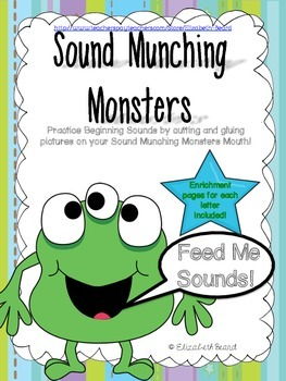 Letter and Sound Practice with Sound Munching Monsters