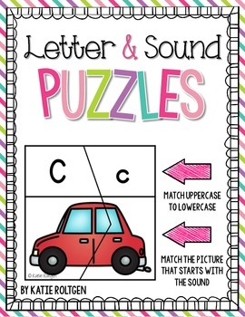 Letter and Sound Puzzles