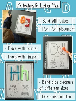 Alphabet Letter and Sound Recognition for PreK and Kindergarten