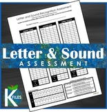 Letter and Sound Recognition Assessment