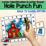 Letter and Sound Recognition- Back to School