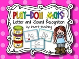 Letter and Sound Recognition Play-Doh Mats
