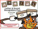 Letter and Sound Recognition Smores (Common Core Aligned)