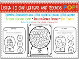 Kindergarten Alphabet Exit Tickets and Student Tracking Forms
