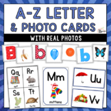 Letter and picture cards, alphabet flash cards & more - with real photos