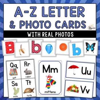 letter and picture cards alphabet flash cards more with real photos. Black Bedroom Furniture Sets. Home Design Ideas