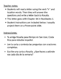 Spanish verb Ir: Letter and questions
