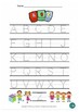 The Best Letter and Sight Word Tracing Worksheet