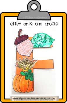 Letter arts and crafts collection