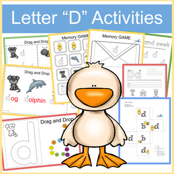 "Letter ""d"" Activities"