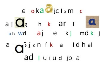 Letter find-Lowercase