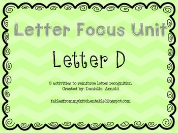 Letter focus: Letter D