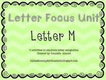 Letter focus: Letter M