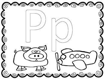 Letter focus: Letter P
