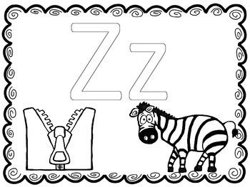 Letter focus: Letter Z