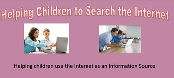 Letter for parents to help children using the Internet to Research