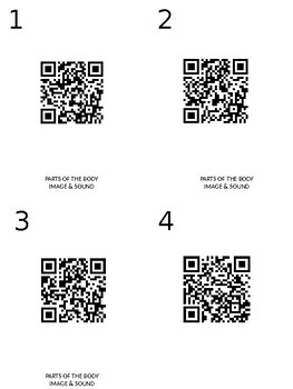 Letter formation tracing activity with QR codes!