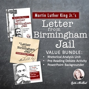 birmingham jail letter letter from birmingham bundle rhetorical analysis 20615