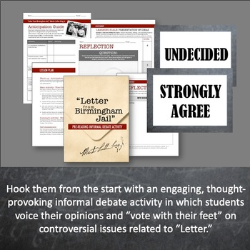 rhetorical analysis of letter of eight white clergyman Letter from birmingham jail rhetorical analysis  king received a letter from eight alabama clergyman explaining their distress and opposition to king and his .