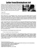 Letter from Birmingham Jail, Martin Luther King, Jr.