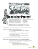 Letter from Birmingham Jail Nonviolent Protest Activity